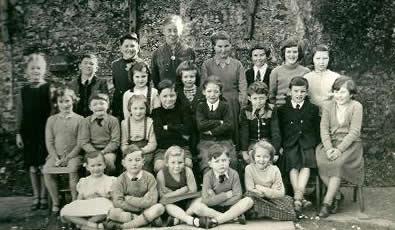 Miss-Butterfields-class-approx-1957