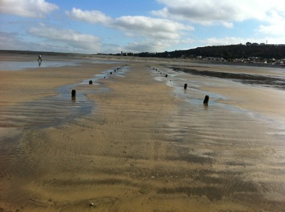 Mystery-posts-on-beach