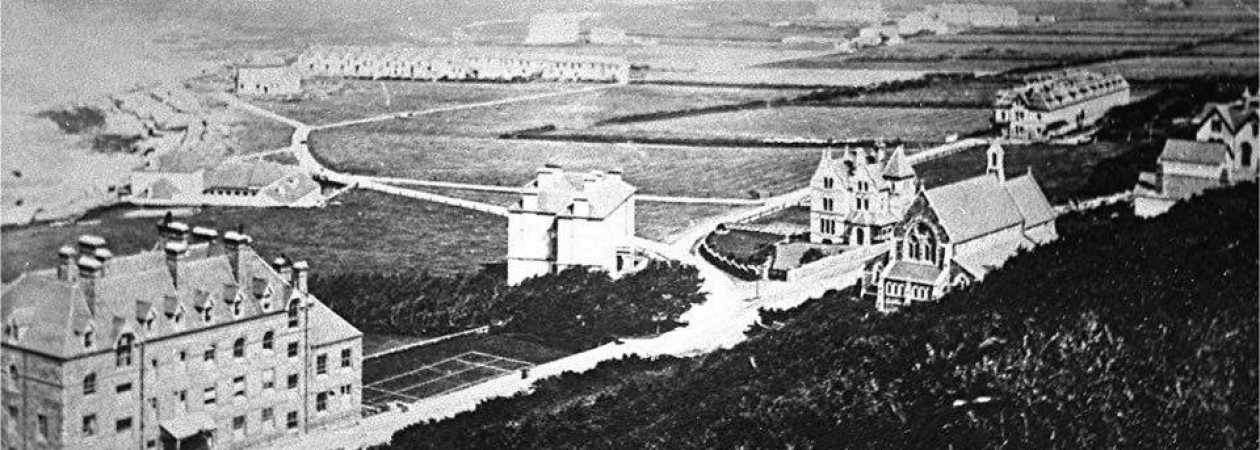 Possibly the oldest photo of Westward Ho!