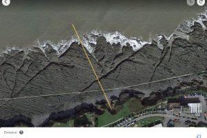 Pier from google length