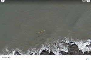 Pier google earth width